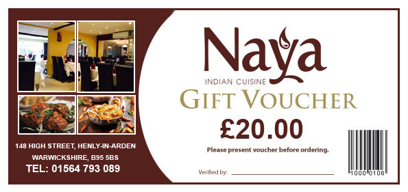 Naya Indian Restaurant and Takeaway